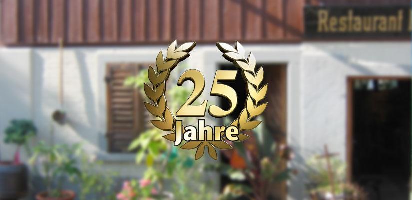 25 Jahre Restaurant Hörnli